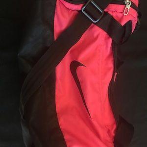 Pink Nike Duffel Bag
